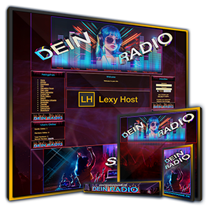 Onlineradio Design für PHP-Fusion oder W-P Portal CMS