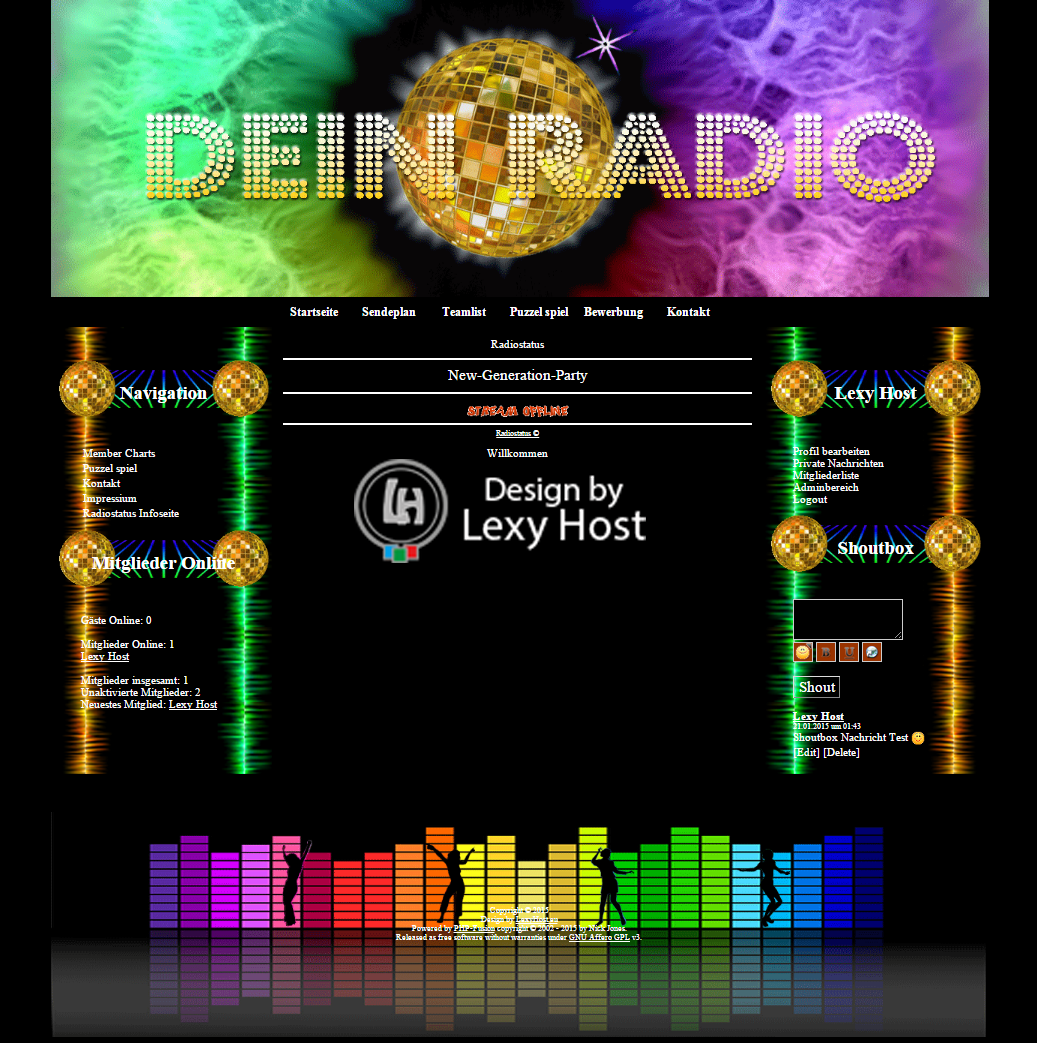 LH_Disco Designed by Lexy Host