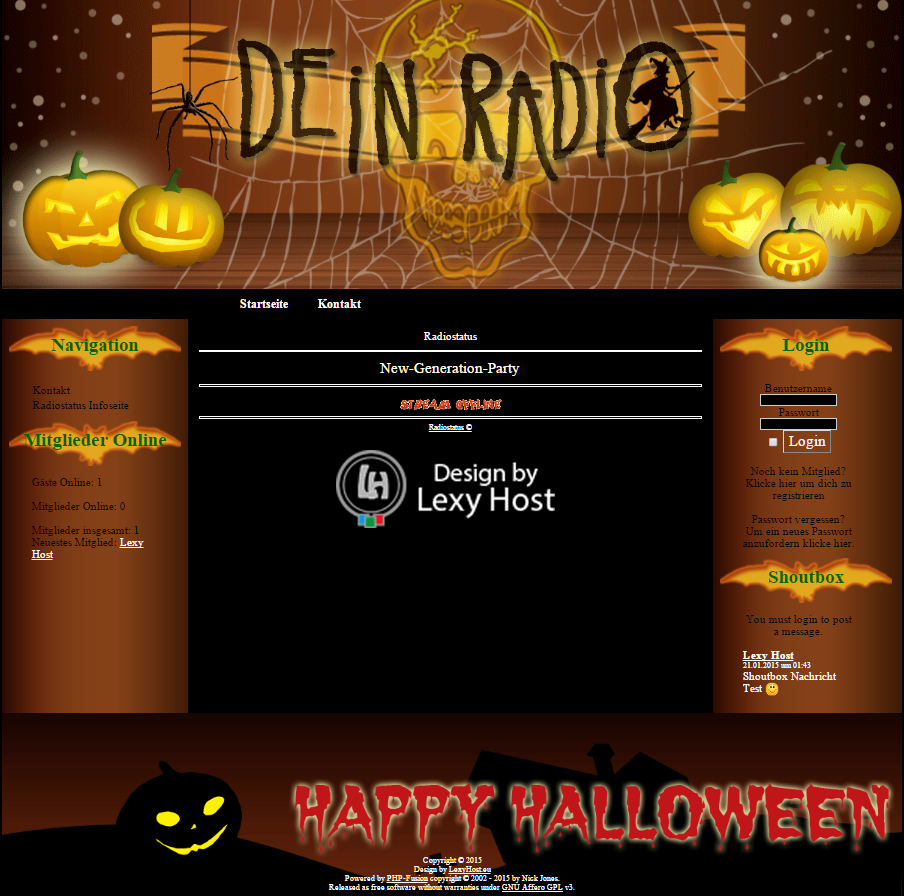 LH_Halloween Designed by Lexy Host